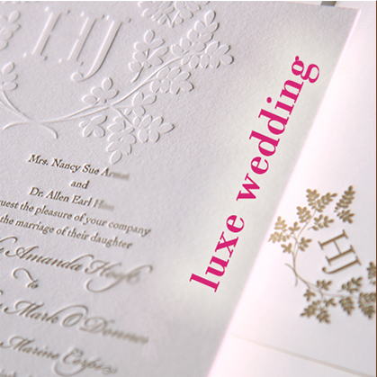 couture wedding stationery