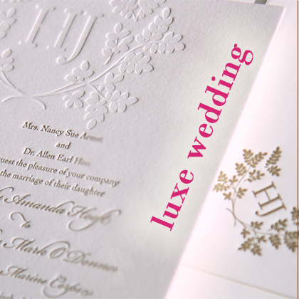 luxe wedding